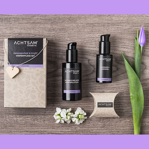 Geschenkset Achtsam Lavendel